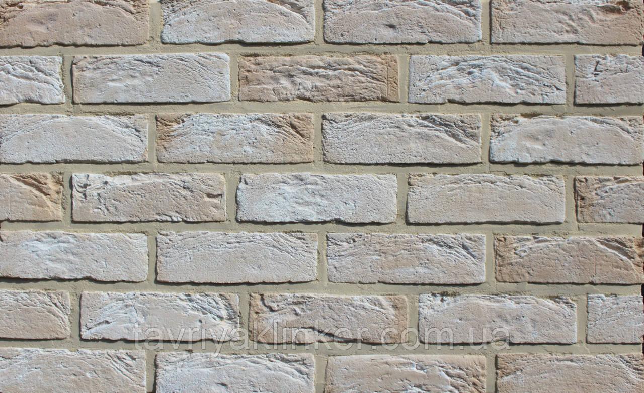 Плитка ручной формовки Loft-Brick 210х65х15 мм, серия Romance, Кремона