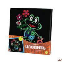 Набор для креативного творчества Изонить картины из ниток мулине Dankotoys IZN-01-07 (tsi_40878)