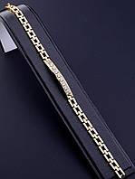 064399 Браслет 'XUPING' Фианит 20 см. (позолота 18к)