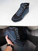 Мужские зимние ботинки харос Канада синего цвета, фото 3