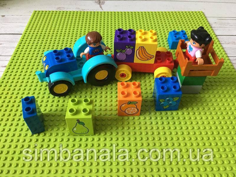 Базовая пластина для конструкторов LEGO 40x40см(светло-зеленая)