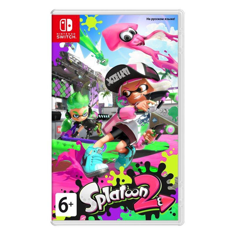 Игра Splatoon 2 для Nintendo Switch (русская версия)