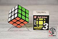 Головоломка Кубик Рубика 3х3 Qiyi Черный, фото 1