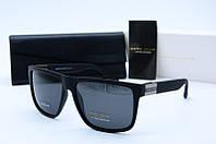 Солнцезащитные очки Marc John прямоугольные черные