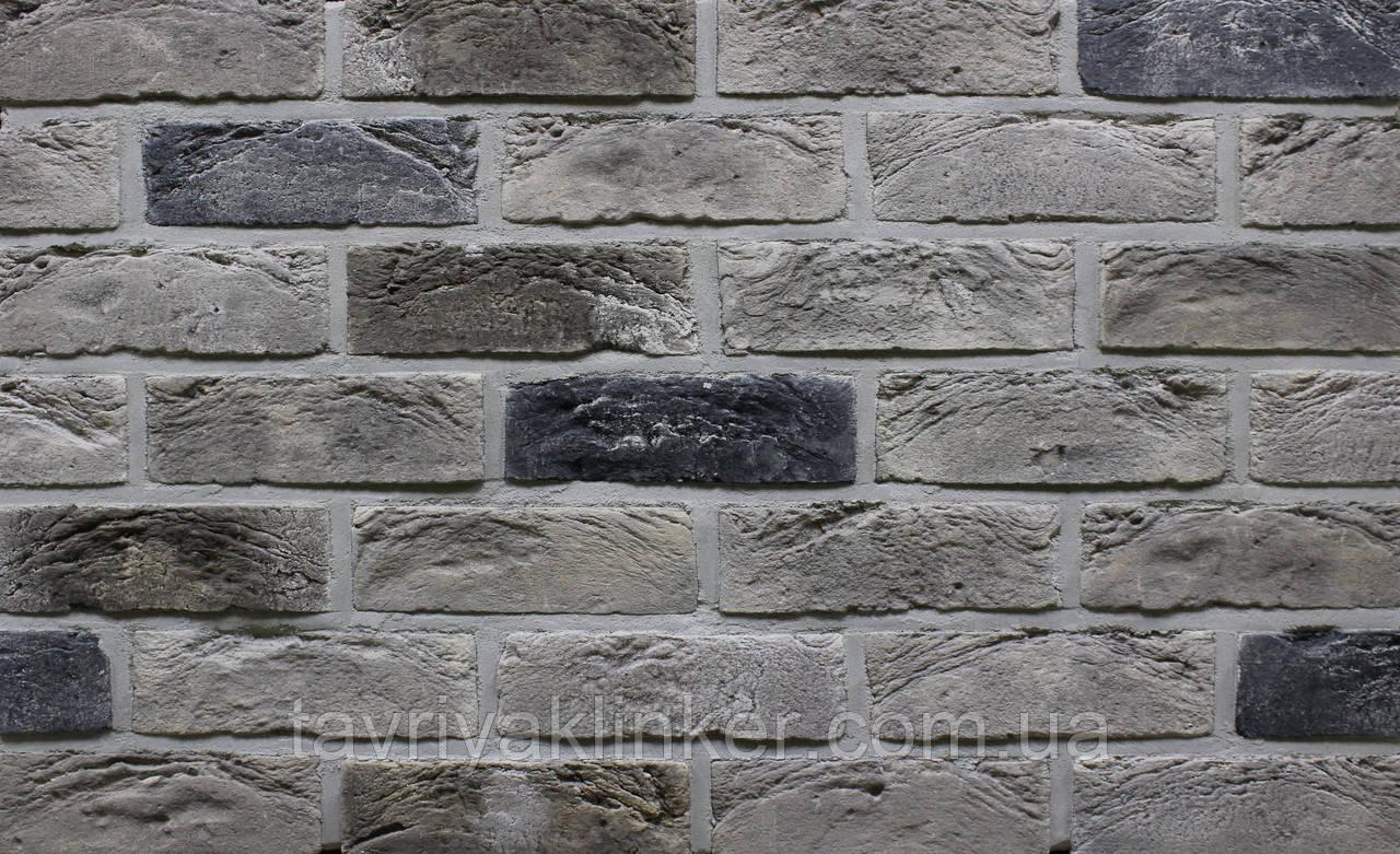 Плитка ручной формовки Loft-Brick 210х65х15 мм, серия Romance, Квебек