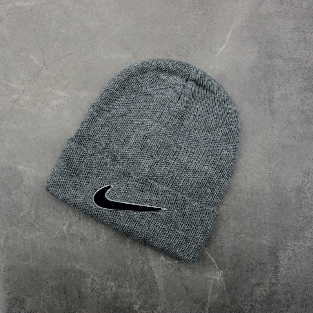 Шапка Nike Logo Gray, Серый