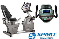Тренажер велосипед Spirit CR800,Электромагнитная,10,Тип Горизонтальный , 65, 24, BA100, Профессиональное, 180, 26 - 40
