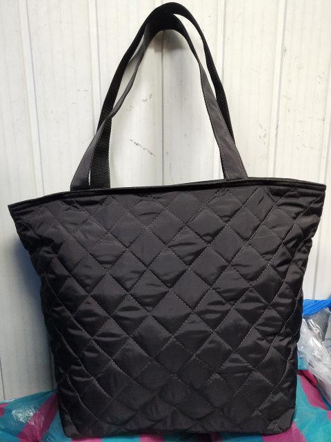 Большая  стеганая сумка женская .
