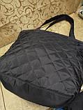 Большая  стеганая сумка женская . , фото 2