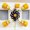 Инкубатор механический Теплуша ИБ 100 ЛМ ламповый, фото 9