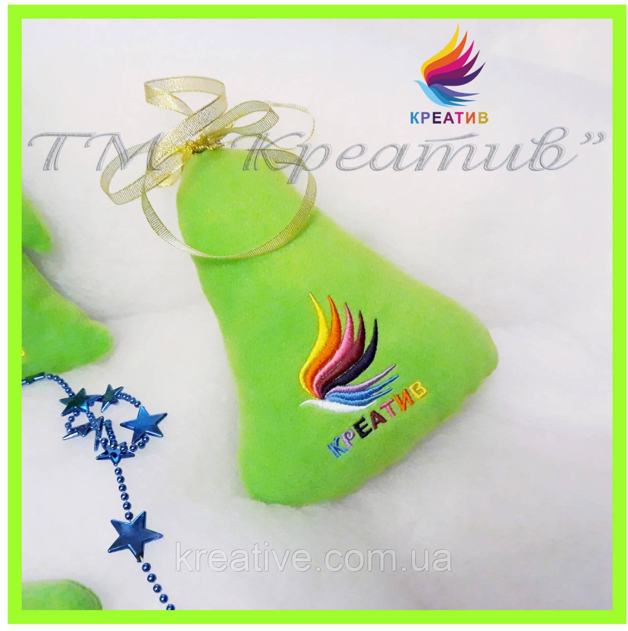 Подушка колокольчик игрушка с вашим логотипом под заказ (от 50 шт.)