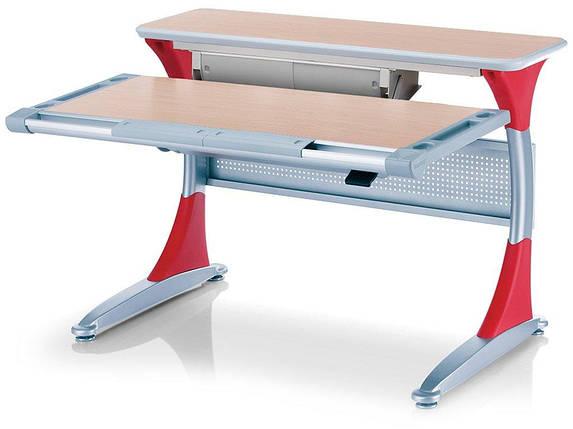 Дитяча парта растишка стіл трансформер Mealux Harvard BD-333 MG/R - box Клен червоний з кабінетом, фото 2