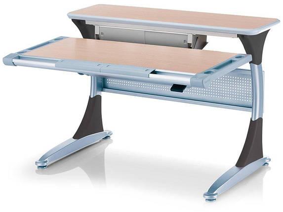 Дитяча парта растишка стіл трансформер Mealux Harvard BD-333 MG/B - box Клен чорний з кабінетом, фото 2