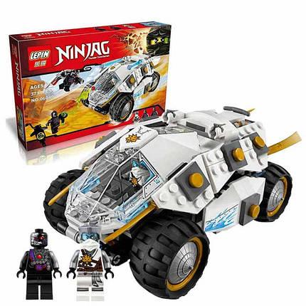 Конструктор Ниндзяго  lepin 06040 Титановый вездеход ниндзя (аналог Lego Ninjago 70588), 371 деталь, фото 2