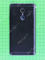 Задняя крышка Xiaomi Redmi Note 4X, ver2 (high version), черный orig-china
