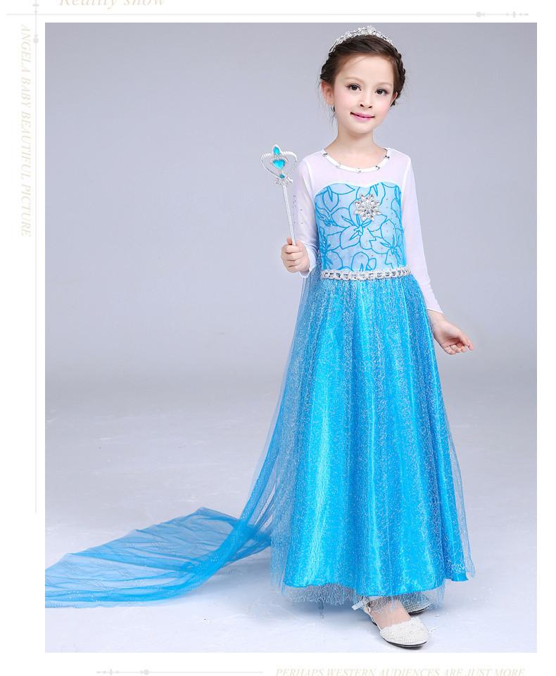 Костюм Frozen Эльзы для девочки