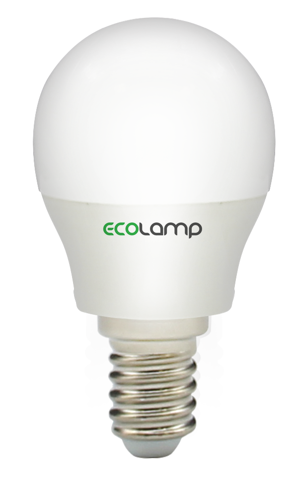 LED лампа ECOLAMP G45-5W-E14-500lm-4100K