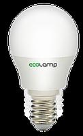 LED лампа ECOLAMP G45-5W-E14-500lm-4100K, фото 1