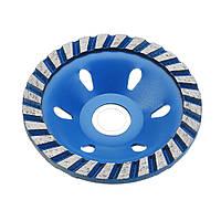 Drillpro100x22.23mmСиняяалмазнаяпиладля шлифовального круга для резки бетонного гранита 1TopShop