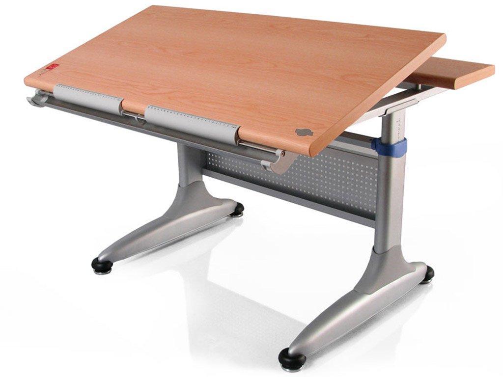 Детская парта растишка стол трансформер Mealux Miki TH-339 beech