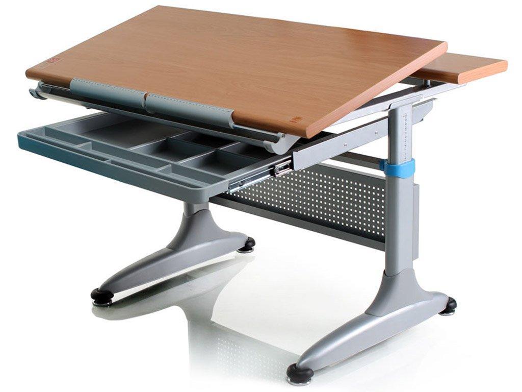 Детская парта растишка стол трансформер Mealux Miki 2 TH-349 beech