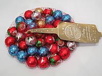 Шоколадные конфеты Merry Christmas новогодние в сеточке 180г