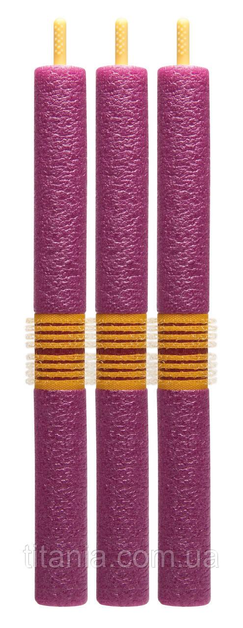 Бигуди-зажимы мягкие, 18 x 180 мм, 3 штук. 8033