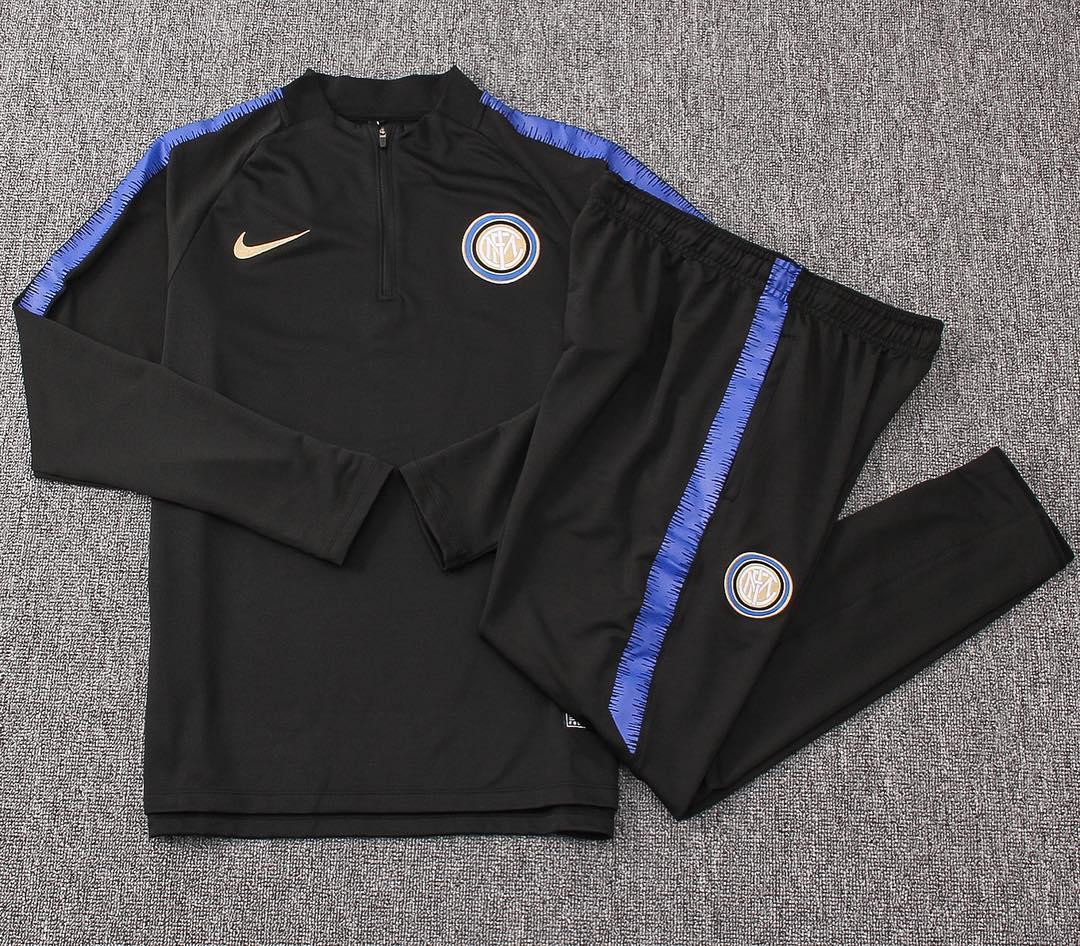 Костюм тренировочный Интер (сезон 2018-2019) синий