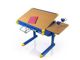 Дитяча парта растишка стіл трансформер Evo-Kids Cherry BD-1122 beech