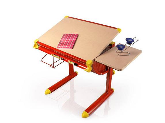 Детская парта растишка стол трансформер Evo-Kids Cherry BD-1122 maple, фото 2