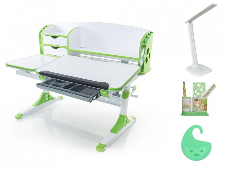 Детская парта растишка стол трансформер Evo-Kids Evo-720 Aivengo (L) Green