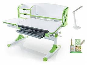 Детская парта растишка стол трансформер Evo-Kids Evo-720 Aivengo (L) Green, фото 2