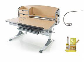 Детская парта растишка стол трансформер Evo-Kids Evo-720 Aivengo (L) Maple, фото 3