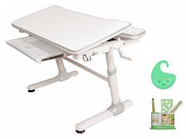 Дитяча парта растишка стіл трансформер Evo-Evo Kids-501 Duke Grey