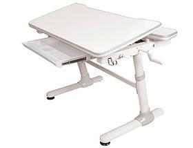Детская парта растишка стол трансформер Evo-Kids Evo-501 Duke Grey (с полкой), фото 3