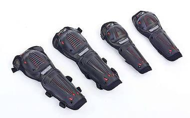 Комплект мотозащиты SCOYCO BATTLEFIELD K10H10-2