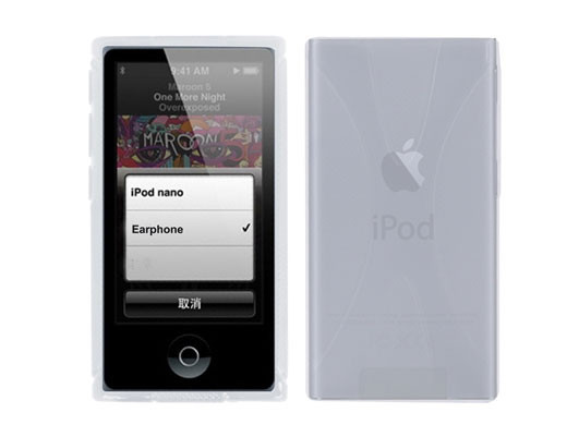 Чохол бампер Primo TPU для Apple iPod Nano 7 (A1446) - Clear