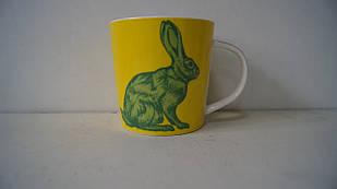 Чашка керамічна жовта