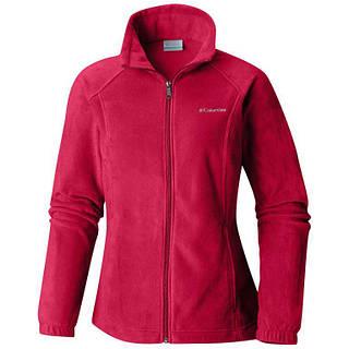 Флисовая куртка женская Columbia Benton Springs размер S (US) Красный