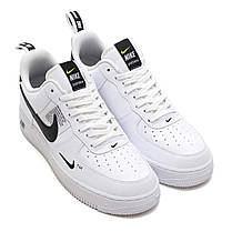 "Кроссовки Nike Air Force 1 LV8 Utility Off-White ""White"" (Белые), фото 3"
