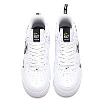 "Кроссовки Nike Air Force 1 LV8 Utility Off-White ""White"" (Белые), фото 2"