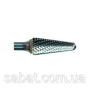 Борфреза твердосплавная коническая с закругленной вершиной 6х16х6 MX