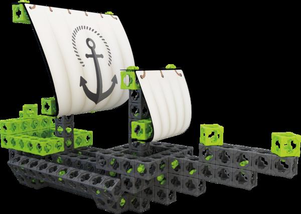 Конструктор TWICKTO Harbour #1 МОРСКОЙ ФЛОТ, 237 деталей