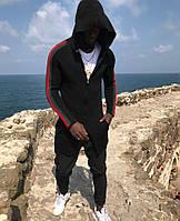 Мужская мантия/кофта черного цвета в стиле Gucci