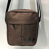 Сумка Текстиль мужская через плечо Барсетка Adidas. В ассортименте., фото 4