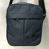 Сумка Текстиль мужская через плечо Барсетка Adidas. В ассортименте., фото 5