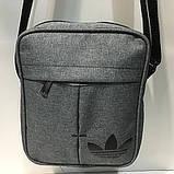 Сумка Текстиль мужская через плечо Барсетка Adidas. В ассортименте., фото 6