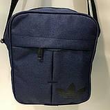 Сумка Текстиль мужская через плечо Барсетка Adidas. В ассортименте., фото 7