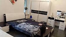 Спальня Ажур (Черный / Белый) (1,80 м.) с подъемным механизмом (раскомплектовуется), фото 2