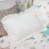 """Прямоугольная подушка с рюшами """"Неженка"""", фото 2"""